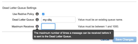 Designing message consumer error handler for Amazon SQS | Neil Brown